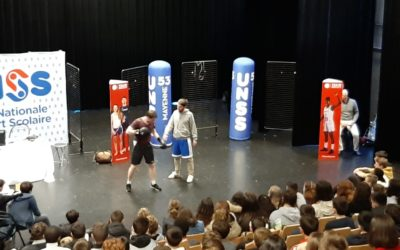 Masterclass «Olympisme» pour les Sections Sportives