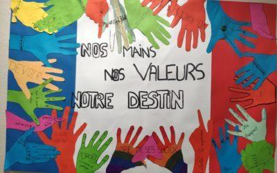 Des collégiens mobilisés pour défendre la laïcité!