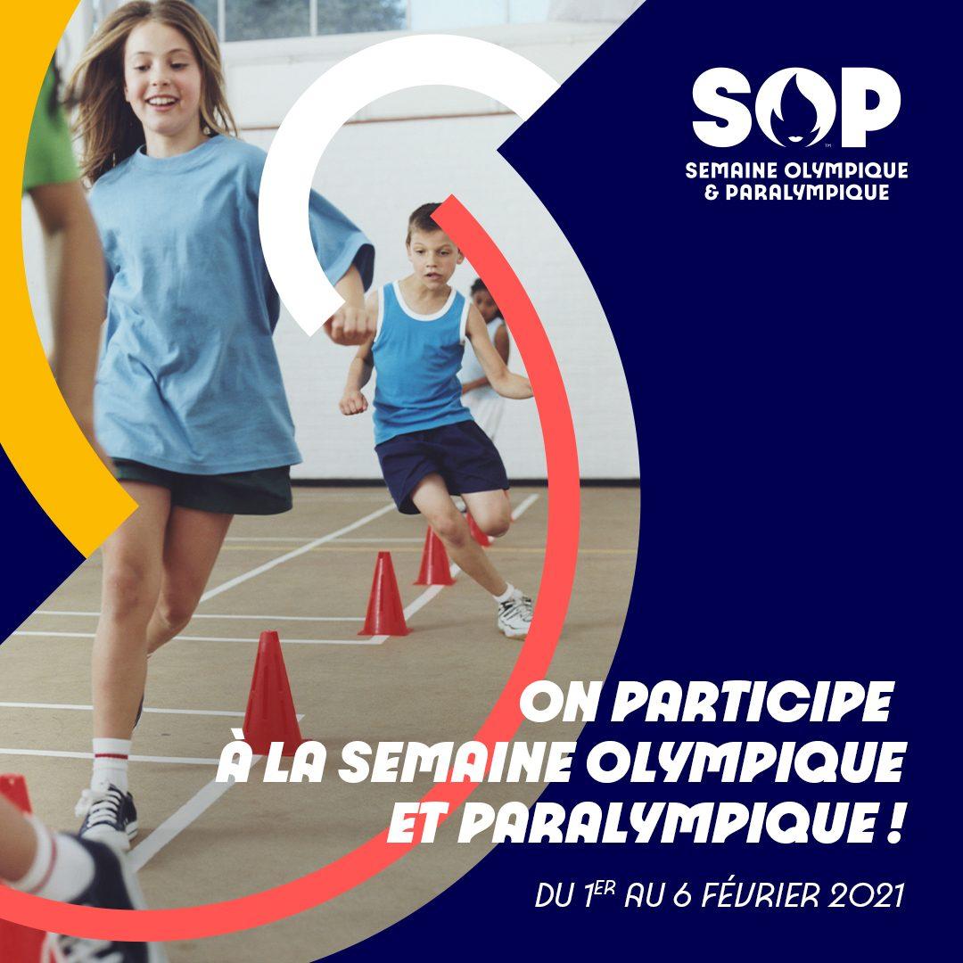 Semaine Olympique et Paralympique du 1 au 6 février 2021